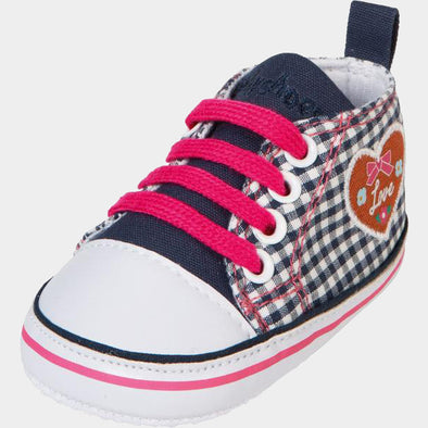 Sneaker di Tela Cuore Country Navy | PLAYSHOES | RocketBaby.it