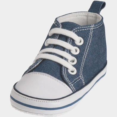 Sneaker di Tela Jeans Blue | PLAYSHOES | RocketBaby.it