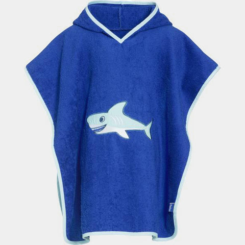 Accappatoio Poncho Shark | PLAYSHOES | RocketBaby.it