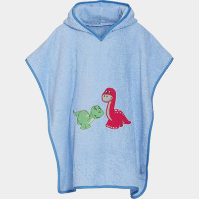 Accappatoio Poncho Dino | PLAYSHOES | RocketBaby.it