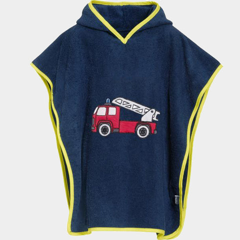 Accappatoio Poncho Fire Brigade | PLAYSHOES | RocketBaby.it