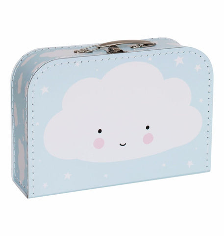Valigia Cloud blue | A LITTLE LOVELY COMPANY | RocketBaby.it