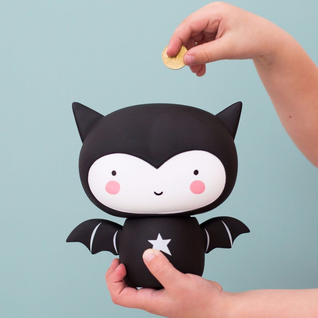Salvadanaio Bat | A LITTLE LOVELY COMPANY | RocketBaby.it