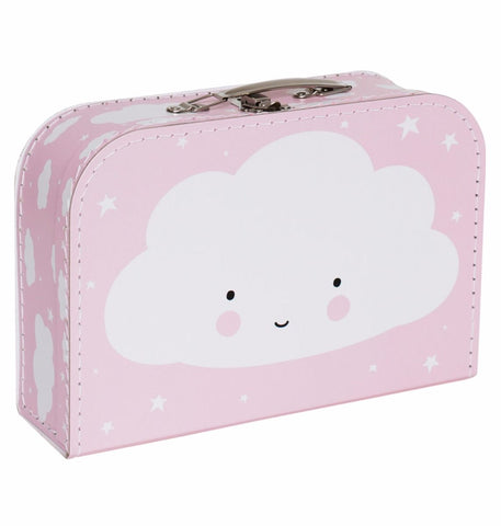 Valigia Cloud pink | A LITTLE LOVELY COMPANY | RocketBaby.it