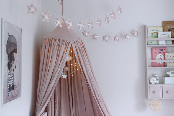 Ghirlanda di Stelle Bianco | COTTON & SWEETS | RocketBaby.it