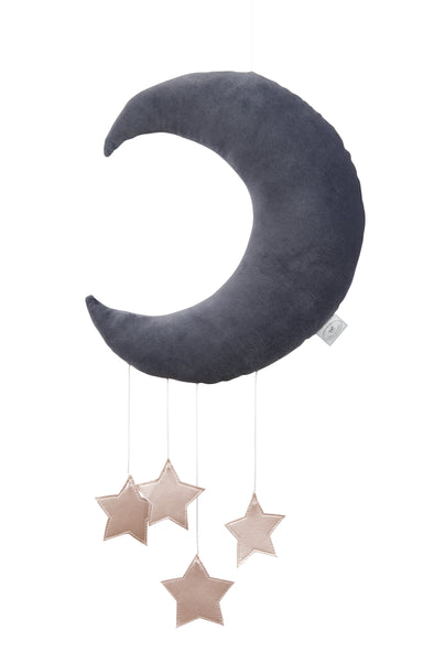 Giostrina Luna Grafite | COTTON & SWEETS | RocketBaby.it