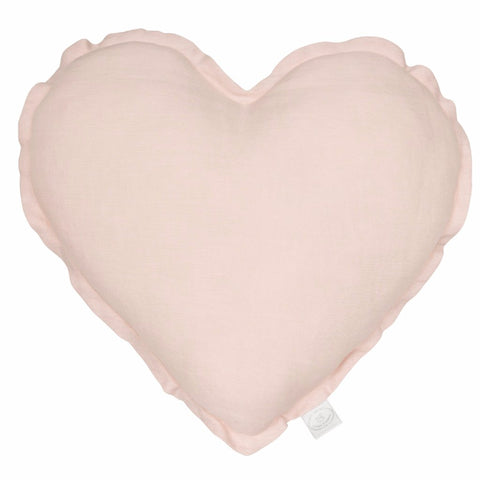 Cuscino Exclusive Cuore Powder Pink | COTTON & SWEETS | RocketBaby.it