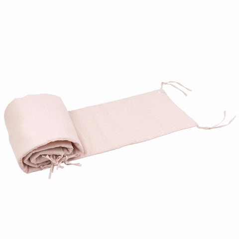 Paracolpi per Lettino e Culla Exclusive Powder Pink 30x190 cm | COTTON & SWEETS | RocketBaby.it