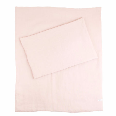Set Lettino Exclusive Powder Pink | COTTON & SWEETS | RocketBaby.it
