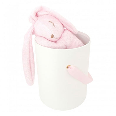 Peluche Coniglio in Bamboo Rosa | COTTON & SWEETS | RocketBaby.it