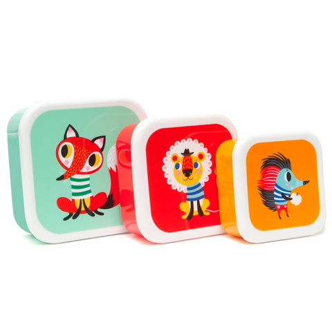 Set 3 Lunchbox Animals | PETIT MONKEY | RocketBaby.it