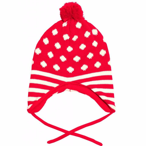 Cappello a Pois Rosso e Bianco - TOBY TIGER - RocketBaby.it - RocketBaby