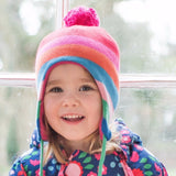 Cappello Girly Stripe - TOBY TIGER - RocketBaby.it - RocketBaby