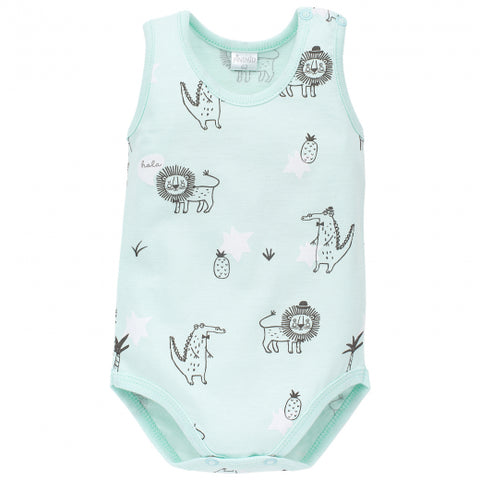 Body Senza Maniche Leon Aquamarina | PINOKIO | RocketBaby.it
