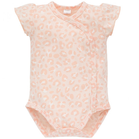 Body a Manica Corta Panther Pink | PINOKIO | RocketBaby.it