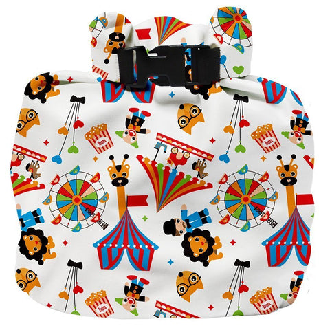 Wet Nappy Bag Portapannolini Circus Time | BAMBINO MIO | RocketBaby.it