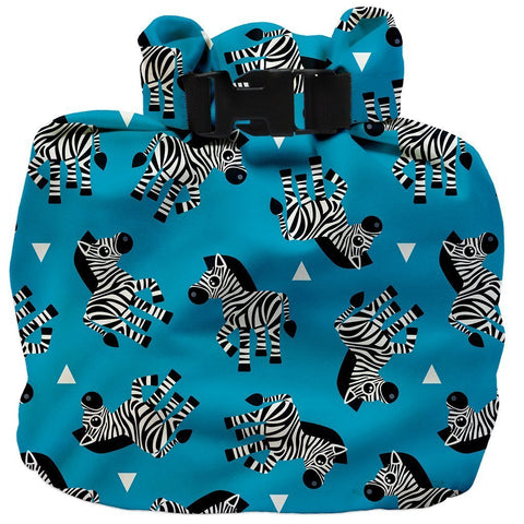 Wet Nappy Bag Portapannolini Zebra Crossing | BAMBINO MIO | RocketBaby.it
