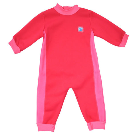 Costume Intero Warm in One Pink Geranium | SPLASH ABOUT | RocketBaby.it