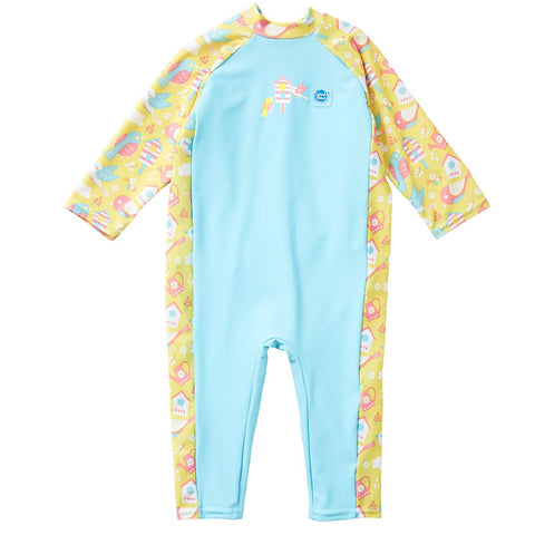 Costume Intero Anti UV Garden Birds | SPLASH ABOUT | RocketBaby.it