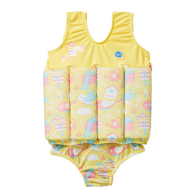 Costume Intero con Inserti Galleggianti Garden Birds | SPLASH ABOUT | RocketBaby.it