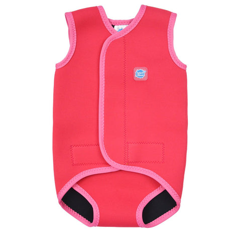 Costume Intero in Neoprene Pink Geranium | SPLASH ABOUT | RocketBaby.it