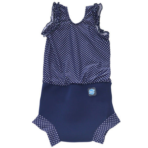 Costume Intero Assorbente Navy Dot | SPLASH ABOUT | RocketBaby.it