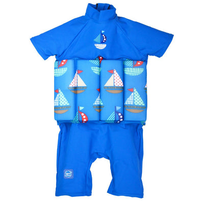 Costume Intero Anti UV con Inserti Galleggianti Set Sail | SPLASH ABOUT | RocketBaby.it