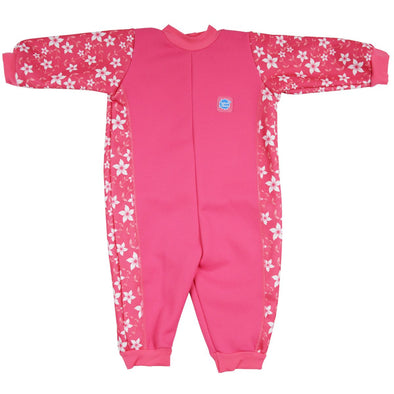 Costume Intero Warm in One Pink Blossom | SPLASH ABOUT | RocketBaby.it