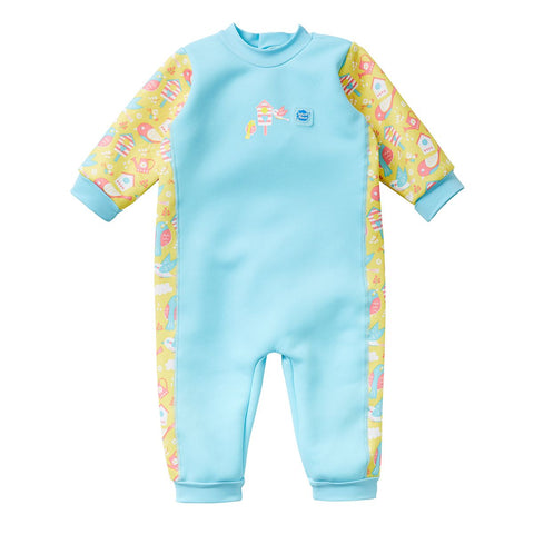 Costume Intero Warm in One Garden Birds | SPLASH ABOUT | RocketBaby.it