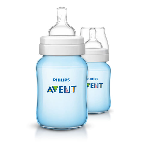 Set 2 Biberon Blue Avent Classic+ | PHILIPS | RocketBaby.it