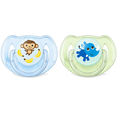 Set 2 Ciucci Avent Classic Monkey e Rhino 6-18m | PHILIPS | RocketBaby.it
