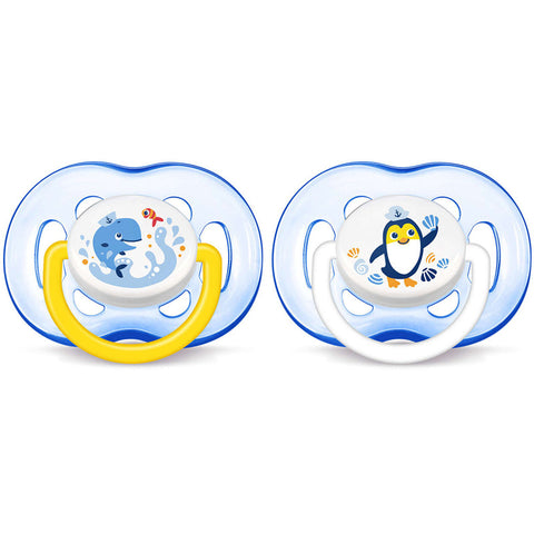 Set 2 Ciucci Avent Freeflow 18m+ Blue | PHILIPS | RocketBaby.it