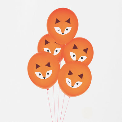 5 Palloncini Gonfiabili Mini Fox | MY LITTLE DAY | RocketBaby.it