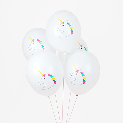 5 Palloncini Gonfiabili Unicorns | MY LITTLE DAY | RocketBaby.it