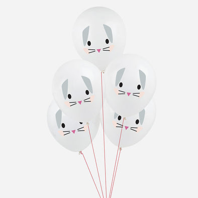 5 Palloncini Gonfiabili Rabbit | MY LITTLE DAY | RocketBaby.it