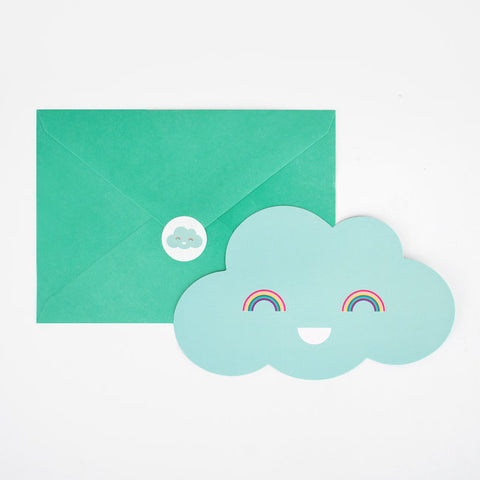 Set Inviti Per Party Clouds | MY LITTLE DAY | RocketBaby.it