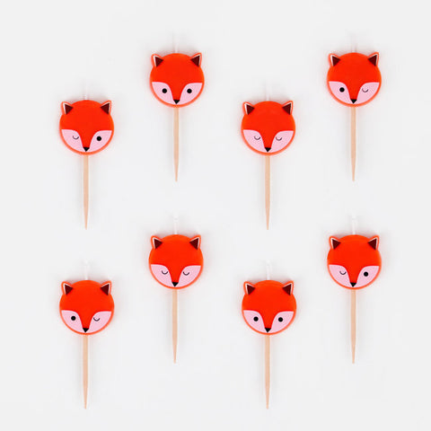 8 Candeline Mini Fox | MY LITTLE DAY | RocketBaby.it