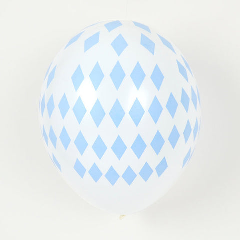 5 Palloncini Gonfiabili Light Blue Diamonds | MY LITTLE DAY | RocketBaby.it