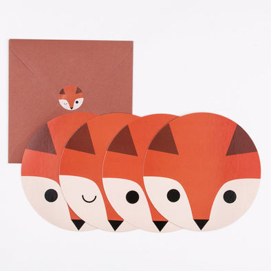 Set Inviti Per Party Mini Fox | MY LITTLE DAY | RocketBaby.it