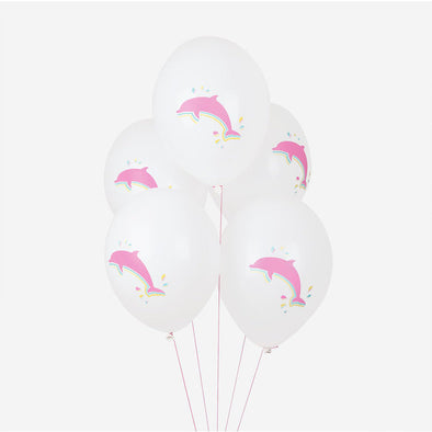 5 Palloncini Gonfiabili Dolphins | MY LITTLE DAY | RocketBaby.it