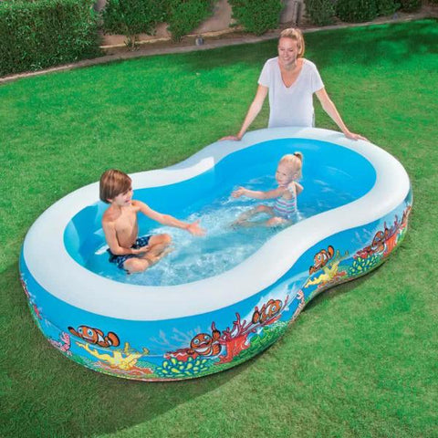 Piscina Family Barriera Corallina | BESTWAY | RocketBaby.it