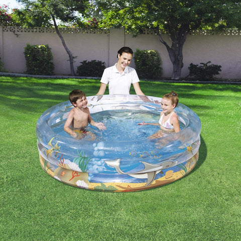 Piscina Gonfiabile Trasparente Sea Life | BESTWAY | RocketBaby.it