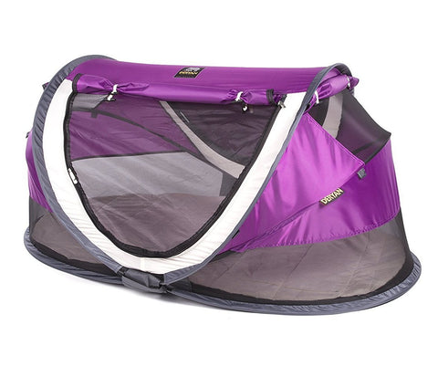 Tenda e Lettino Popup Peuter Luxe Purple 4+ Anni | DERYAN | RocketBaby.it