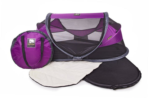 Tenda e Lettino Popup Baby Luxe Purple | DERYAN | RocketBaby.it