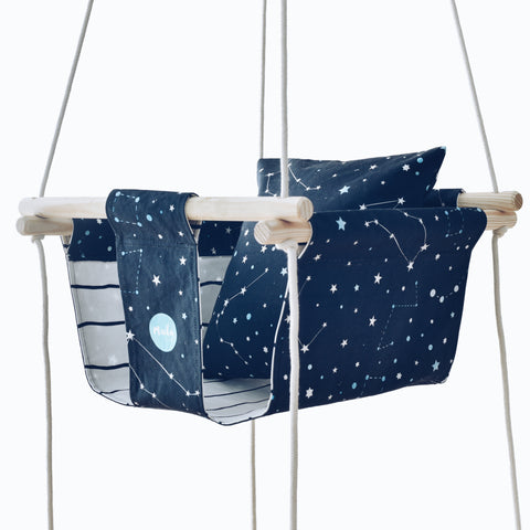 Altalena Blue Constellation | MADA IN LISBON | RocketBaby.it