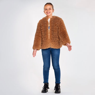 Cappotto in Peluche Teddy Avena