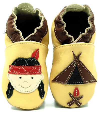 Babbucce Soft Sole Indian | FIORINO | RocketBaby.it