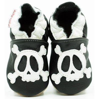 Babbucce Soft Sole Pirate Skull | FIORINO | RocketBaby.it