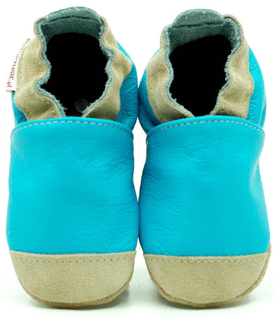 Babbucce Soft Sole Noses Blue | FIORINO | RocketBaby.it