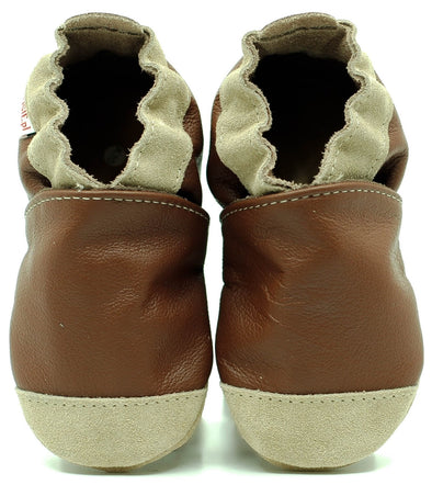 Babbucce Soft Sole Noses Brown | FIORINO | RocketBaby.it